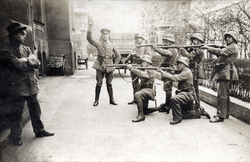 Execution of a communist, Munich, May 1919